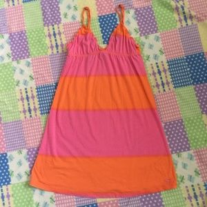 PINK Victoria's Secret Dress with Ruffle Size XS